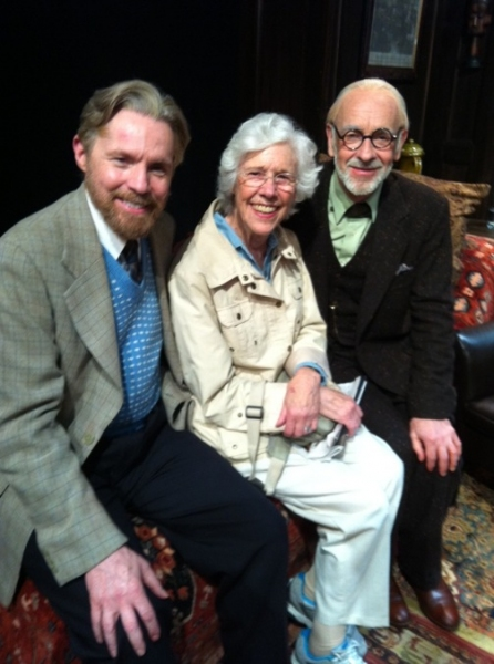 Photo Flash: Frances Sternhagen and Patricia Conolly Visit FREUD'S LAST SESSION