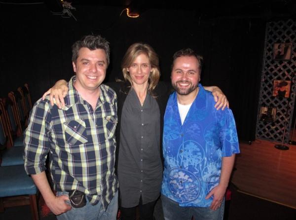 Kurt Koehler, Julie Brown and James Edward Quinn Photo