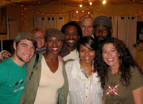 Taraji P. Henson with the Cast of CYRANO