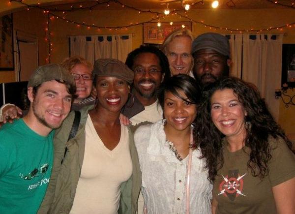 Taraji P. Henson with the Cast of CYRANO