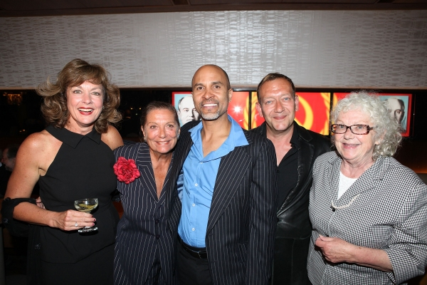 Cast member Michele Pawk, Director Graciela Daniele, cast member Julio Monge, Composer Michael John LaChiusa and Book & Lyrics Writer Ellen Fitzhugh