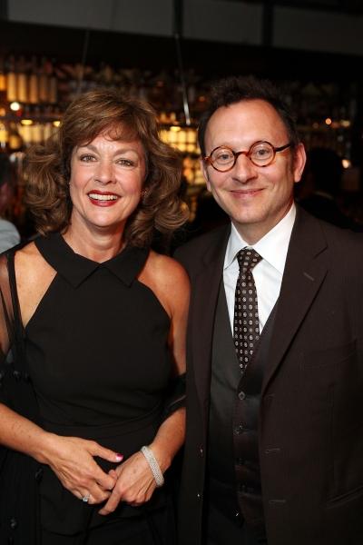 Cast member Michele Pawk and actor Michael Emerson  at Julio Monge, Michele Pawk et al. at LOS OTROS' CTG World Premiere