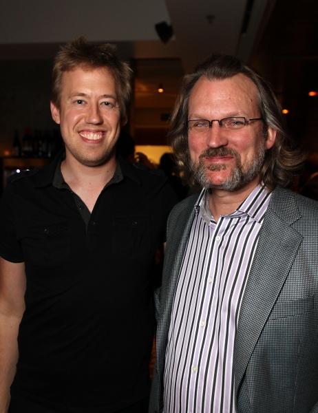 Chris Fenwick, Conductor/Keyboard, and David O, Associate Music Director  Photo