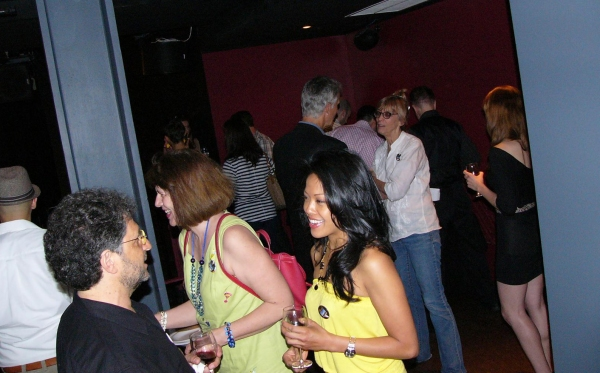 Photo Flash: Catherine Cox, J. Elaine Marcos et al. at FLAMBE DREAMS Launch Party