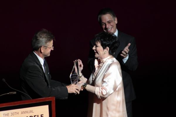 Mikhail Baryshnikov, Liza Minelli, Tony Danza