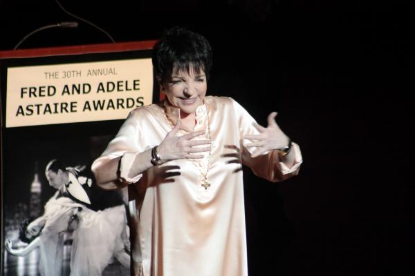 Liza Minelli at 30th Annual Fred & Adele Astaire Awards Honor Liza Minnelli & More!