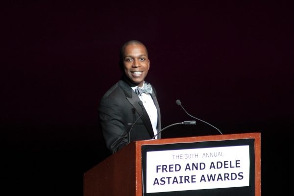 Leslie Odom Jr. at 30th Annual Fred & Adele Astaire Awards Honor Liza Minnelli & More!