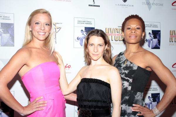 Ashley Amber, Elena Roger, Bahiyah Hibah at Chita Rivera, Kelli O'Hara & More Arrive at the 30th Annual Fred & Adele Astaire Awards