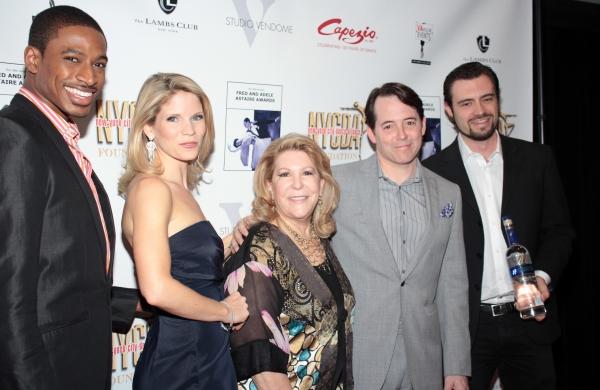 Robert Hartwell, Kelli O'Hara, Carolyn Kendall Buchter, Matthew Broderick, Matt Sandy