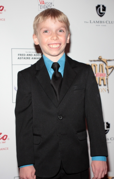 Luke Spring at Chita Rivera, Kelli O'Hara & More Arrive at the 30th Annual Fred & Adele Astaire Awards