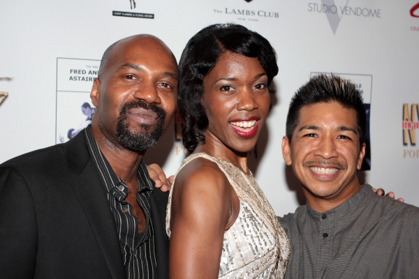 Ron Brown, Lisa Nicole Wilkerson, Arcell Cabuay Photo