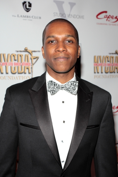 Leslie Odom Jr. at Chita Rivera, Kelli O'Hara & More Arrive at the 30th Annual Fred & Adele Astaire Awards