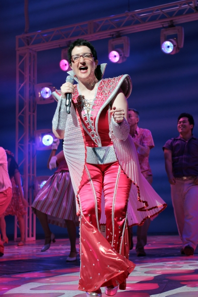 Photo Coverage: Aaron Lazar, Felicia Finley & More Join MAMMA MIA!