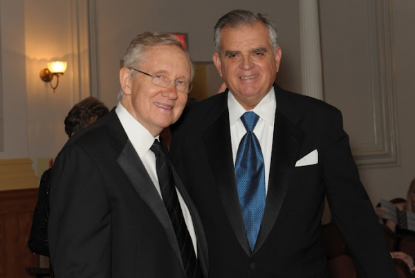 The Honorable Harry Reid and The Honorable Raymond H. LaHood