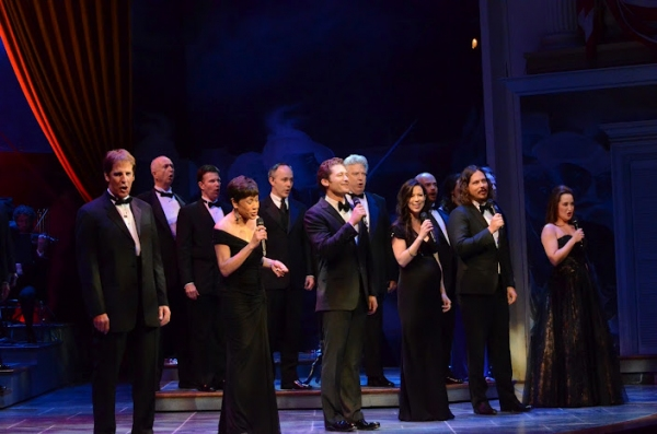 Scott Bakula, Bettye LaVette, Matthew Morrison, The Civil Wars, Anna Christy and the ensemble at Morgan Freeman, Matthew Morrison, et al. at Ford's Theatre's 2012 Gala