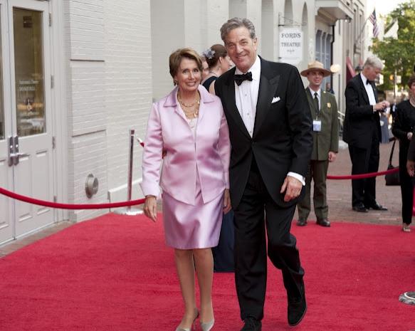 Nancy Pelosi and Mr. Paul Pelosi  Photo