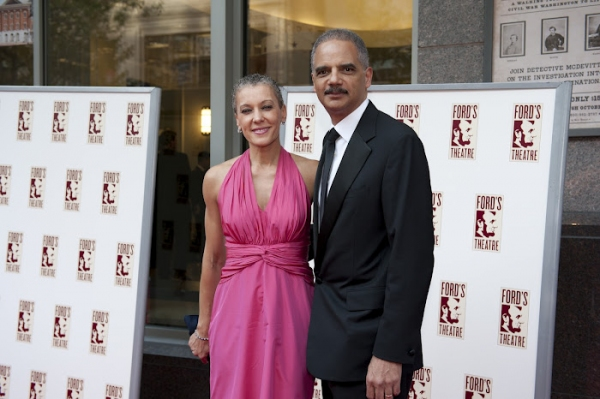 Sharon Malone and The Honorable Eric Holder, Jr.