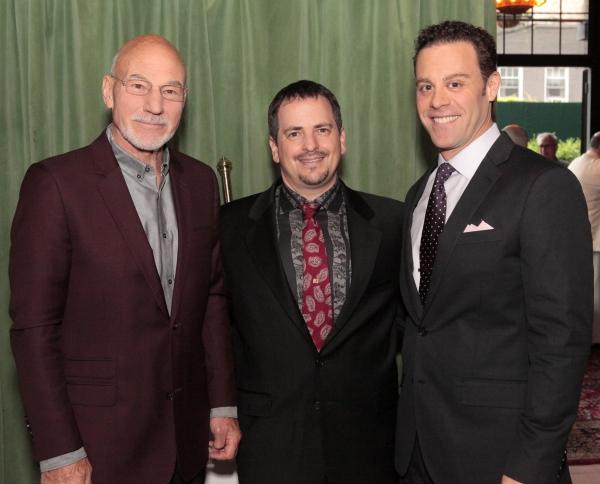 Patrick Stewart, Jesse Berger, Matthew Rauch