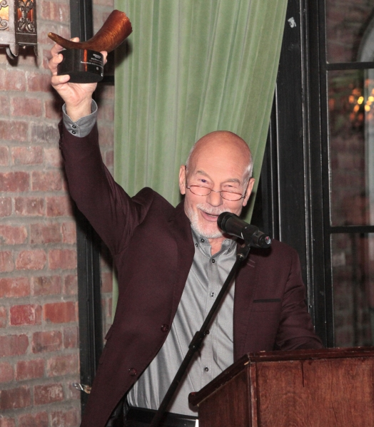 Photo Flash: Red Bull Theatre Honors Patrick Stewart!