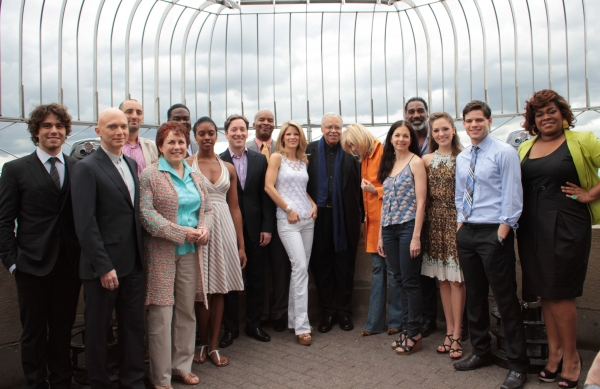 Photo Coverage: Meet The 2012 Tony Nominees Atop the Empire State Building!
