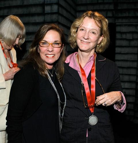 Marsha Norman, Heidi Ettinger at Inside the 2012 Lilly Awards!