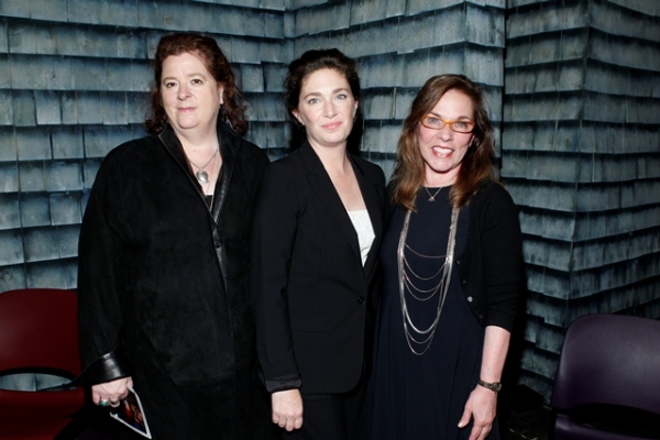 Theresa Rebeck, Julia Jordan, Marsha Norman at Inside the 2012 Lilly Awards!
