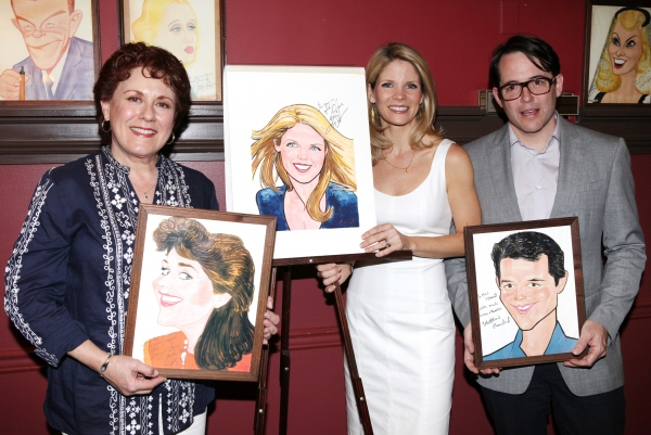 FREEZE FRAME: NICE WORK's Kelli O'Hara Joins the Sardi's Wall Of Fame