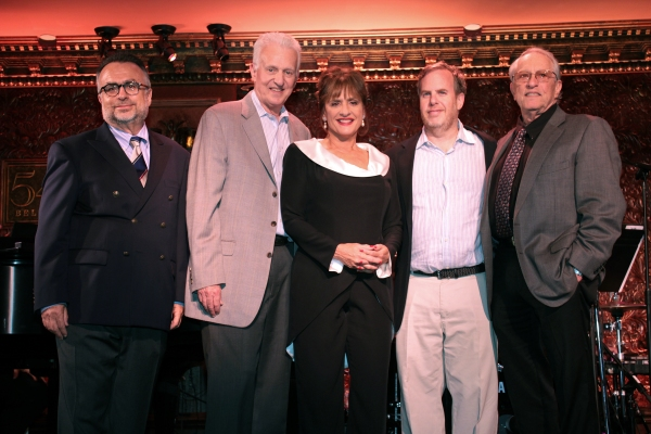 Richard Frankel, Tom Viertel, Patti LuPone, Marc Routh, Steven Baruch