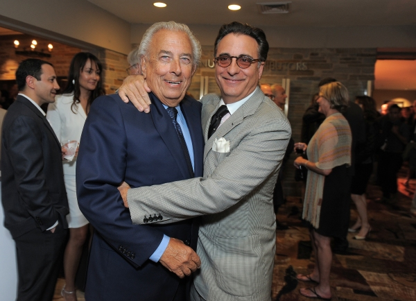 """Frank Mancuso and Andy Garcia attend the """"Backstage At The Geffen"""" Fundraiser on Monday, June 4, 2012 in Los Angeles. (Photo by Jordan Strauss/Invision for Geffen Playhouse)"""