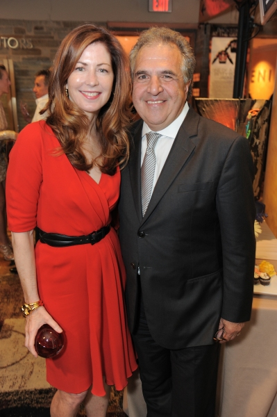 "Dana Delany and Jim Gianopulos attend the ""Backstage At The Geffen"" Fundraiser on Monday, June 4, 2012 in Los Angeles. (Photo by Jordan Strauss/Invision for Geffen Playhouse)"