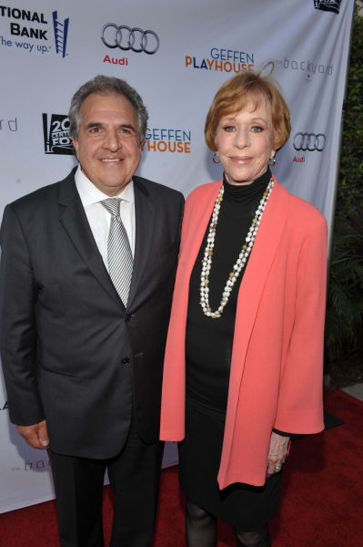 Jim Gianopulos and Carol Burnett