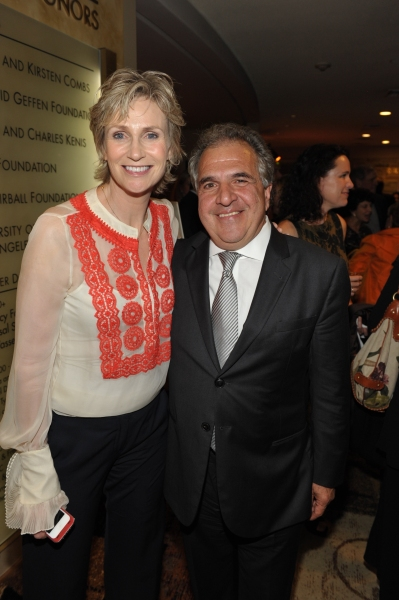 Jane Lynch and Jim Gianopulos