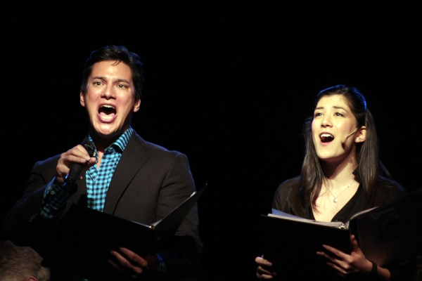 Nicholas Rodriguez, Lynn Craig at Constantine Maroulis & Andrea McArdle Reunite in Air Supply Musical Reading at the Triad