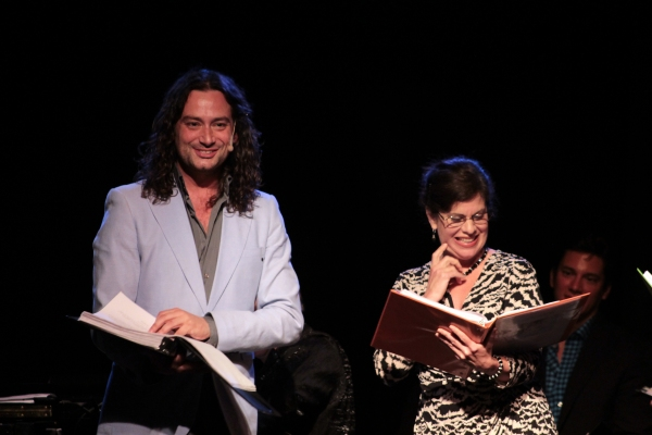 Photo Coverage: Constantine Maroulis & Andrea McArdle Reunite in Air Supply Musical Reading at the Triad