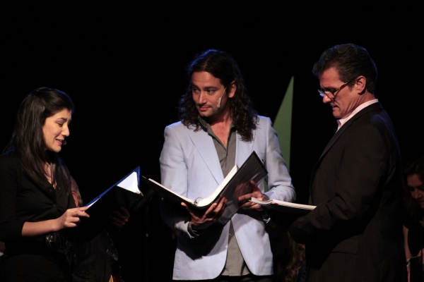 Lynn Craig, Constantine Maroulis, Paul Jackel