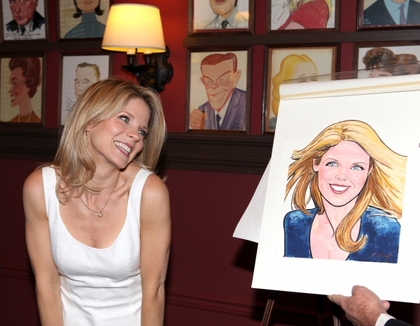 Photo Coverage: NICE WORK IF YOU CAN GET IT's Kelli O'Hara Joins the Sardi's Wall Of Fame!