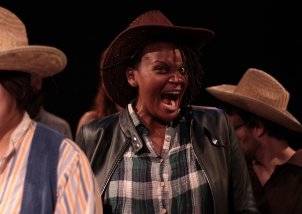 Starr Busby as Sheriff Jack Rance in the World Premiere of Rady&Bloom's The Girl Of The Golden West