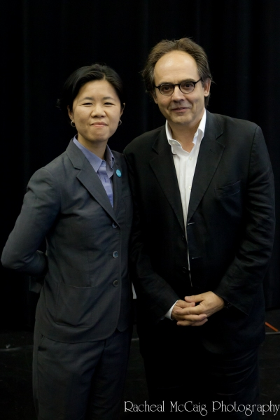 Kristyn Wong-Tam and Richard Rose