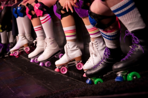 Photo Flash: First Look at Pre-NY Tryout of ROLLER DISCO THE MUSICAL in Boston!