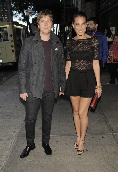 Rob Thomas and Marisol Thomas at Adam Shankman, Julianne Hough & Co. at ROCK OF AGES Movie Screening in NYC