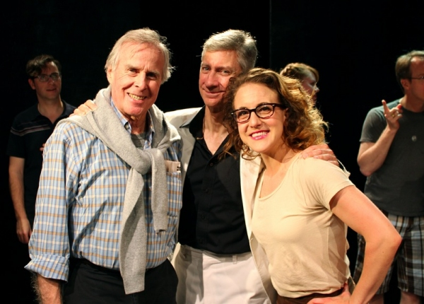 Photo Flash: Donna McKechnie and John Cunningham Visit SILENCE! The Musical