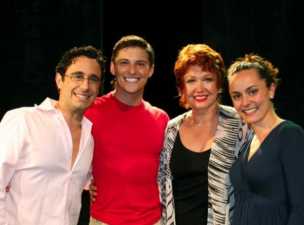 Christopher Gattelli, Callan Bergmann, Donna McKechnie, Ashlee Dupre  Photo