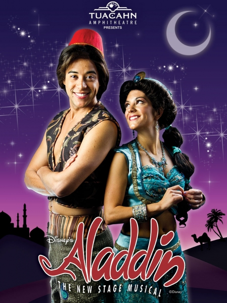 Photo Flash: Tuacahn Presents Disney's ALADDIN Releases Artworks; Runs Now Thru 10/19