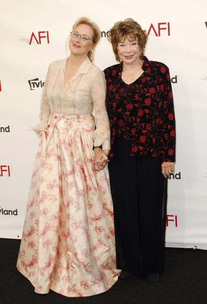 Shirley MacLaine and Meryl Streep at Shirley MacLaine, Meryl Streep & More at The AFI Life Achievement Awards Honouring Shirley MacLaine