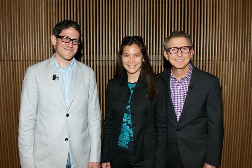 Tom Schumacher, Diane Paulus and Randy Weiner