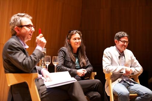 Randy Weiner, Diane Paulus and Tom Schumacher