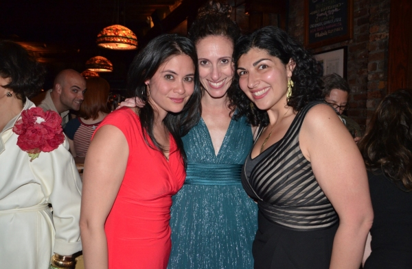 Maha Chehlaoui, Lameece Issaq and Nancy Vitale Photo