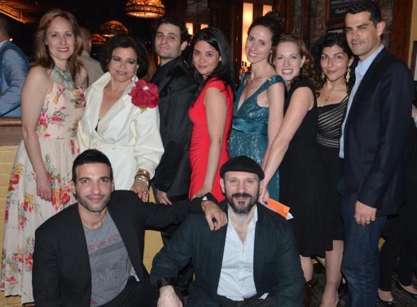 Back Row: Heather Raffo, Kathryn Kates, Arian Moayed, Maha Chehlaoui, Lameece Issaq,  Photo