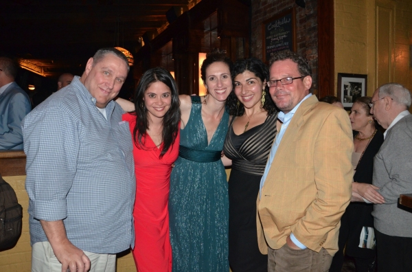 "�"" Jim Nicola, Maha Chehlaoui, Lameece Issaq, Nancy Vitale and Billy  Photo"