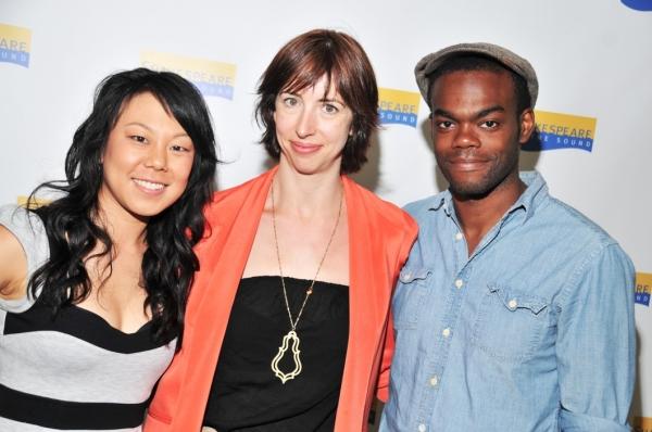Ali Ahn, Joanna Settle and William Jackson Harper  Photo